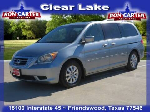 2009 Honda Odyssey for sale at Ron Carter  Clear Lake Used Cars in Houston TX