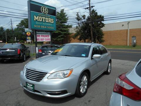 2011 Chrysler 200 for sale at Brookside Motors in Union NJ