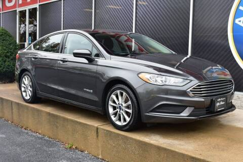 2017 Ford Fusion Hybrid for sale at Alfa Romeo & Fiat of Strongsville in Strongsville OH