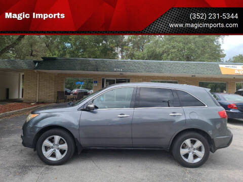 2011 Acura MDX for sale at Magic Imports in Melrose FL