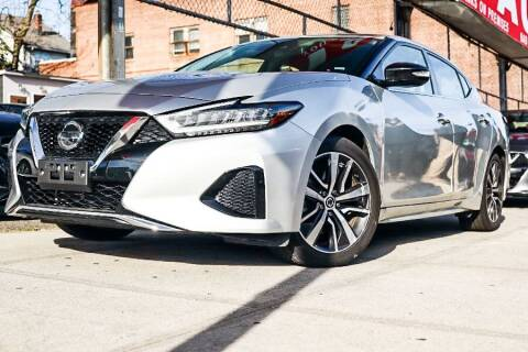 2020 Nissan Maxima for sale at HILLSIDE AUTO MALL INC in Jamaica NY