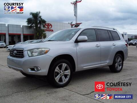 2008 Toyota Highlander for sale at Courtesy Toyota & Ford in Morgan City LA
