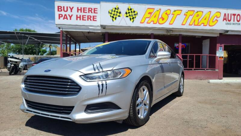 2013 Ford Fusion for sale at Fast Trac Auto Sales in Phoenix AZ