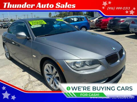 2013 BMW 3 Series for sale at Thunder Auto Sales in Sacramento CA