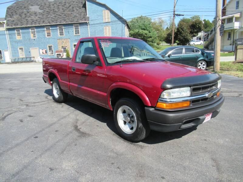 2003 Chevrolet S-10 for sale in Davidsville, PA