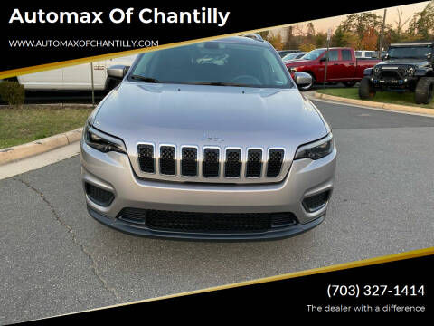 2020 Jeep Cherokee for sale at Automax of Chantilly in Chantilly VA