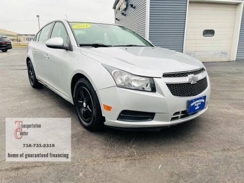 2014 Chevrolet Cruze for sale at Transportation Center Of Western New York in Niagara Falls NY