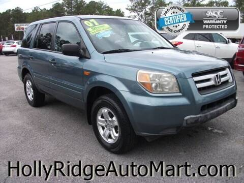 2007 Honda Pilot for sale at Holly Ridge Auto Mart in Holly Ridge NC