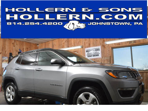 2018 Jeep Compass for sale at Hollern & Sons Auto Sales in Johnstown PA