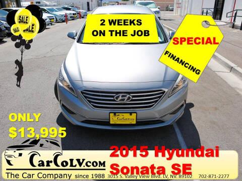 2015 Hyundai Sonata for sale at The Car Company in Las Vegas NV