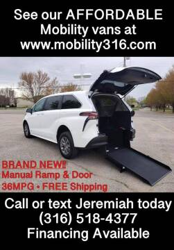 2021 Toyota Sienna for sale at Affordable Mobility Solutions, LLC - Mobility/Wheelchair Accessible Inventory-Wichita in Wichita KS