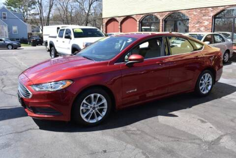 2019 Ford Fusion Hybrid for sale at Absolute Auto Sales, Inc in Brockton MA
