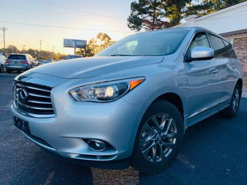 2015 Infiniti QX60 for sale at North Georgia Auto Brokers in Snellville GA