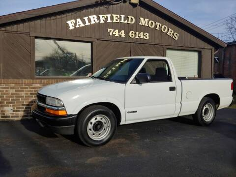 2000 Chevrolet S-10 for sale at Fairfield Motors in Fort Wayne IN