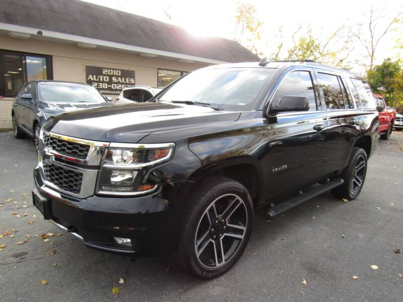 2017 Chevrolet Tahoe for sale at 2010 Auto Sales in Troy NY