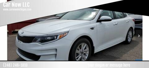 2016 Kia Optima for sale at Car Now LLC in Madison Heights MI