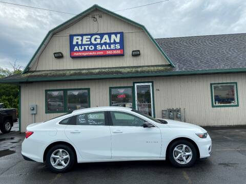 2017 Chevrolet Malibu for sale at Mark Regan Auto Sales in Oswego NY