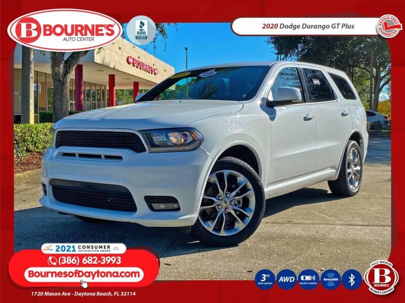 2020 Dodge Durango for sale at Bourne's Auto Center in Daytona Beach FL