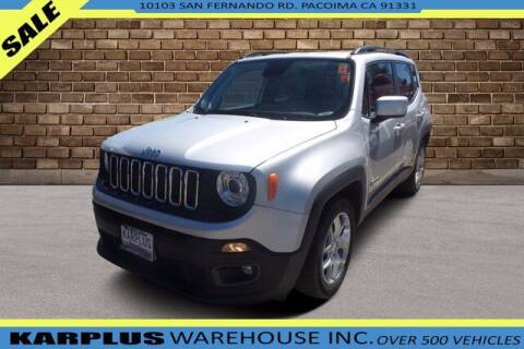 2018 Jeep Renegade for sale at Karplus Warehouse in Pacoima CA
