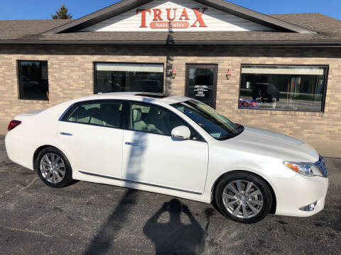 2011 Toyota Avalon for sale at Truax Auto Sales Inc. in Deer Creek MN