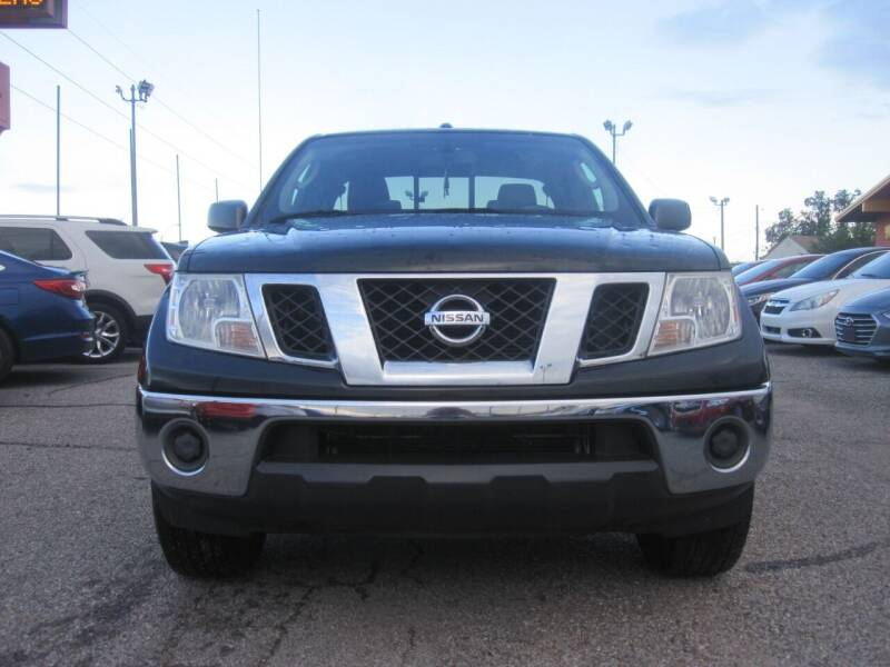 2011 Nissan Frontier for sale at T & D Motor Company in Bethany OK
