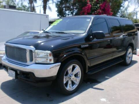 2001 Ford Excursion for sale at Williams Auto Mart Inc in Pacoima CA