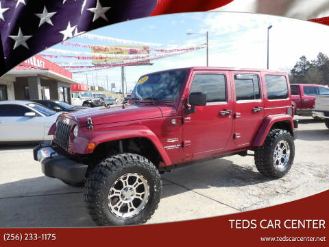 2011 Jeep Wrangler Unlimited for sale at TEDS CAR CENTER in Athens AL