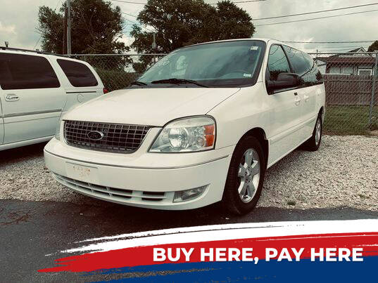 2005 Ford Freestar for sale at Marti Motors Inc in Madison IL