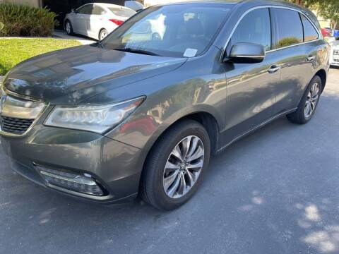 2014 Acura MDX for sale at E and M Auto Sales in Bloomington CA