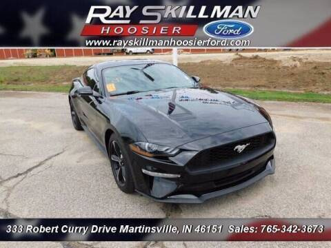 2018 Ford Mustang for sale at Ray Skillman Hoosier Ford in Martinsville IN