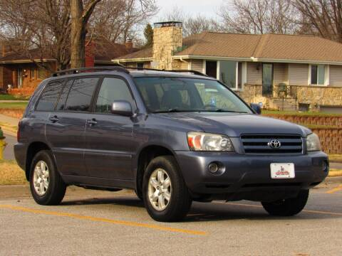 2005 Toyota Highlander for sale at NY AUTO SALES in Omaha NE