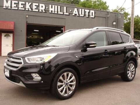 2017 Ford Escape for sale at Meeker Hill Auto Sales in Germantown WI