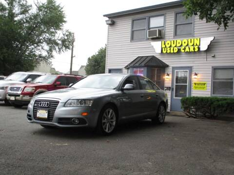 2011 Audi A6 for sale at Loudoun Used Cars in Leesburg VA