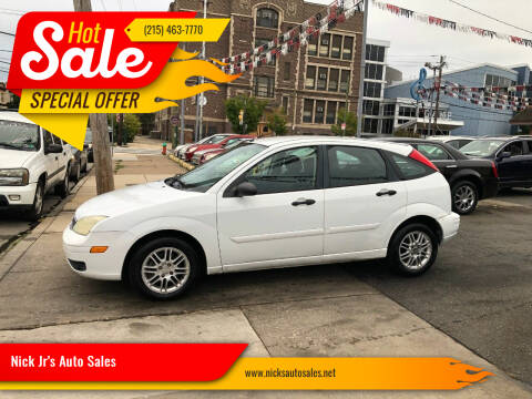 2007 Ford Focus for sale at Nick Jr's Auto Sales in Philadelphia PA