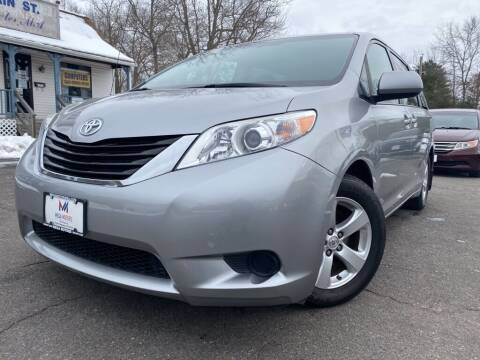 2014 Toyota Sienna for sale at Mega Motors in West Bridgewater MA