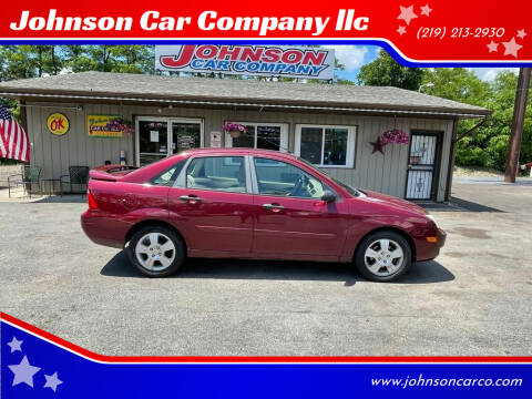 2007 Ford Focus for sale at Johnson Car Company llc in Crown Point IN