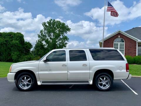 2004 Cadillac Escalade ESV for sale at HillView Motors in Shepherdsville KY
