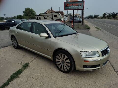 2004 Audi A8 L for sale at Sunset Auto Body in Sunset UT