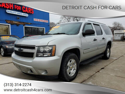 2010 Chevrolet Suburban for sale at Detroit Cash for Cars in Warren MI