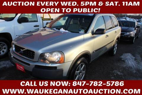 2004 Volvo XC90 for sale at Waukegan Auto Auction in Waukegan IL
