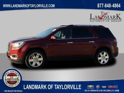 2017 GMC Acadia Limited for sale at LANDMARK OF TAYLORVILLE in Taylorville IL