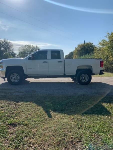 2016 Chevrolet Silverado 2500HD for sale at BARROW MOTORS in Caddo Mills TX
