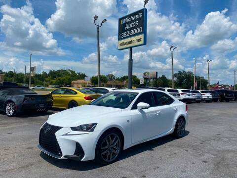2019 Lexus IS 300 for sale at Michaels Autos in Orlando FL