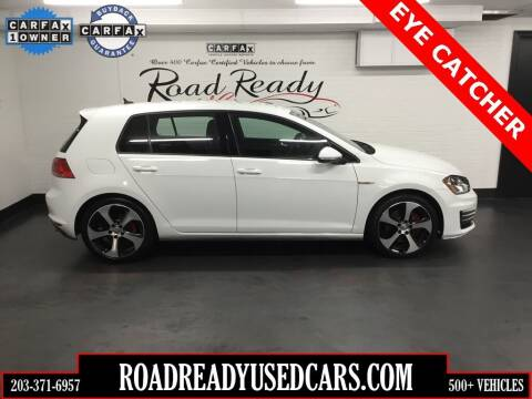 2017 Volkswagen Golf GTI for sale at Road Ready Used Cars in Ansonia CT