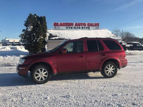 2004 Buick Rainier for sale at BLAESER AUTO LLC in Chippewa Falls WI