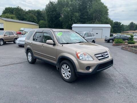 2006 Honda CR-V for sale at EXPO AUTO GROUP in Perry OH