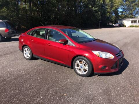 2013 Ford Focus for sale at Dorsey Auto Sales in Anderson SC