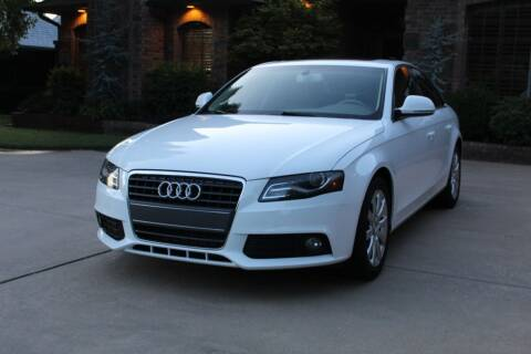 2009 Audi A4 for sale at CANTWEIGHT CLASSICS in Maysville OK