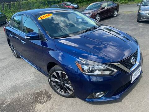 2016 Nissan Sentra for sale at Bob Karl's Sales & Service in Troy NY
