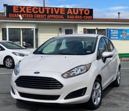 2016 Ford Fiesta for sale at Executive Auto in Winchester VA